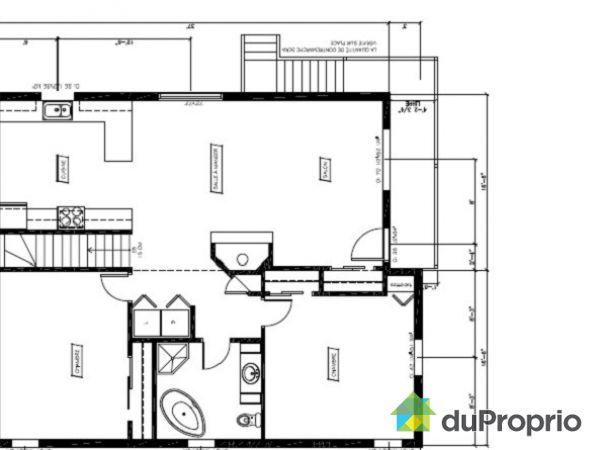 Bungalow sur lev vendre mont tremblant 469 471 chemin - Plan de maison quebec ...