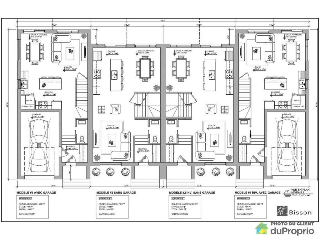Connu Plan Maison De Ville. Stunning Une Maison De Ville De Style  JF73