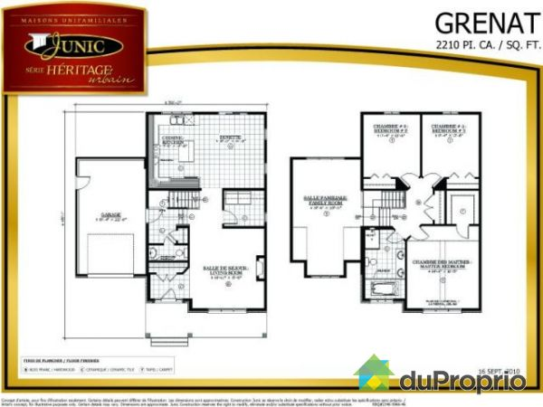 Maison neuve vendu aylmer immobilier qu bec duproprio for Plan maison 2 niveaux