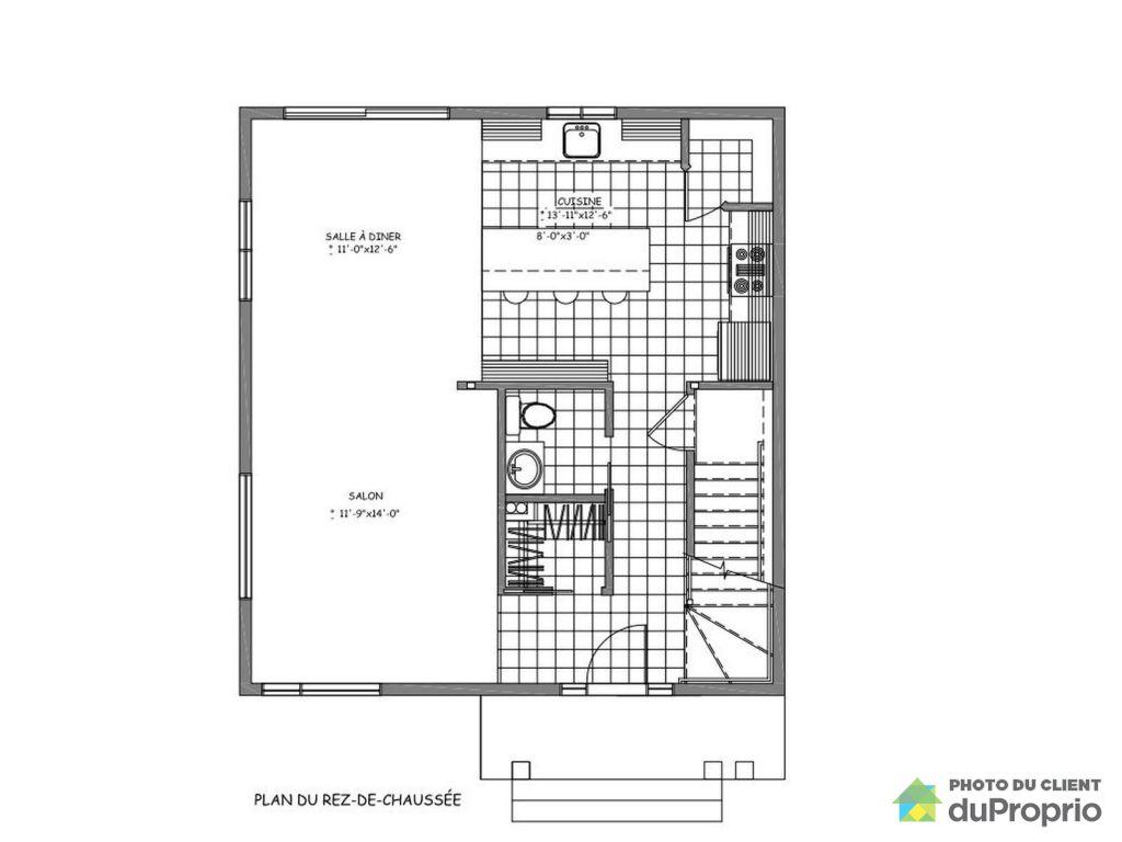 Maison neuve plan finest plan maison etage moderne with for Maison neuve plan