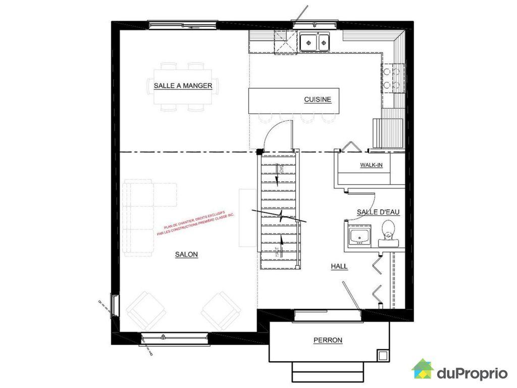 Plan de maison neuve lovely plan maison neuve plan maison for Plan de maison neuve
