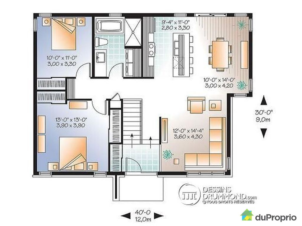 Maison neuve vendu drummondville immobilier qu bec duproprio 486749 - Plan de maison quebec ...