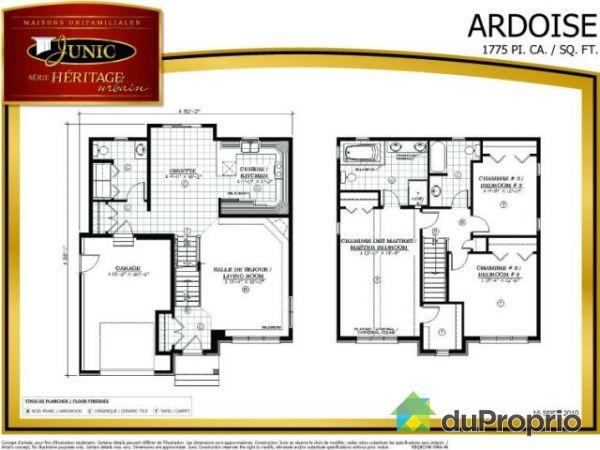 plan de maison 2 étages - menuiserie - Plan Maison Deux Etages