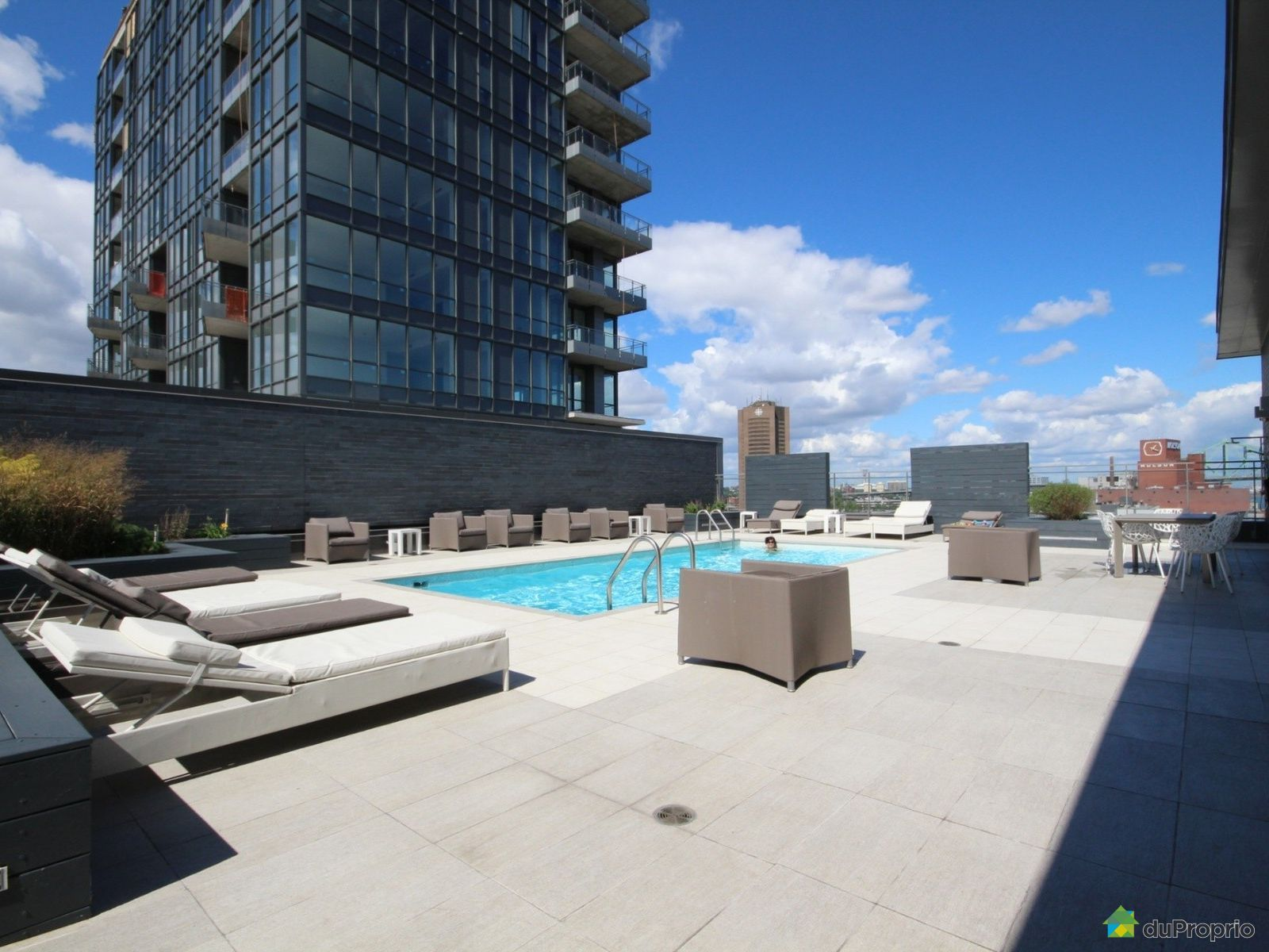 Condo for sale in montreal 904 901 rue de la commune e for La downtown condo for sale