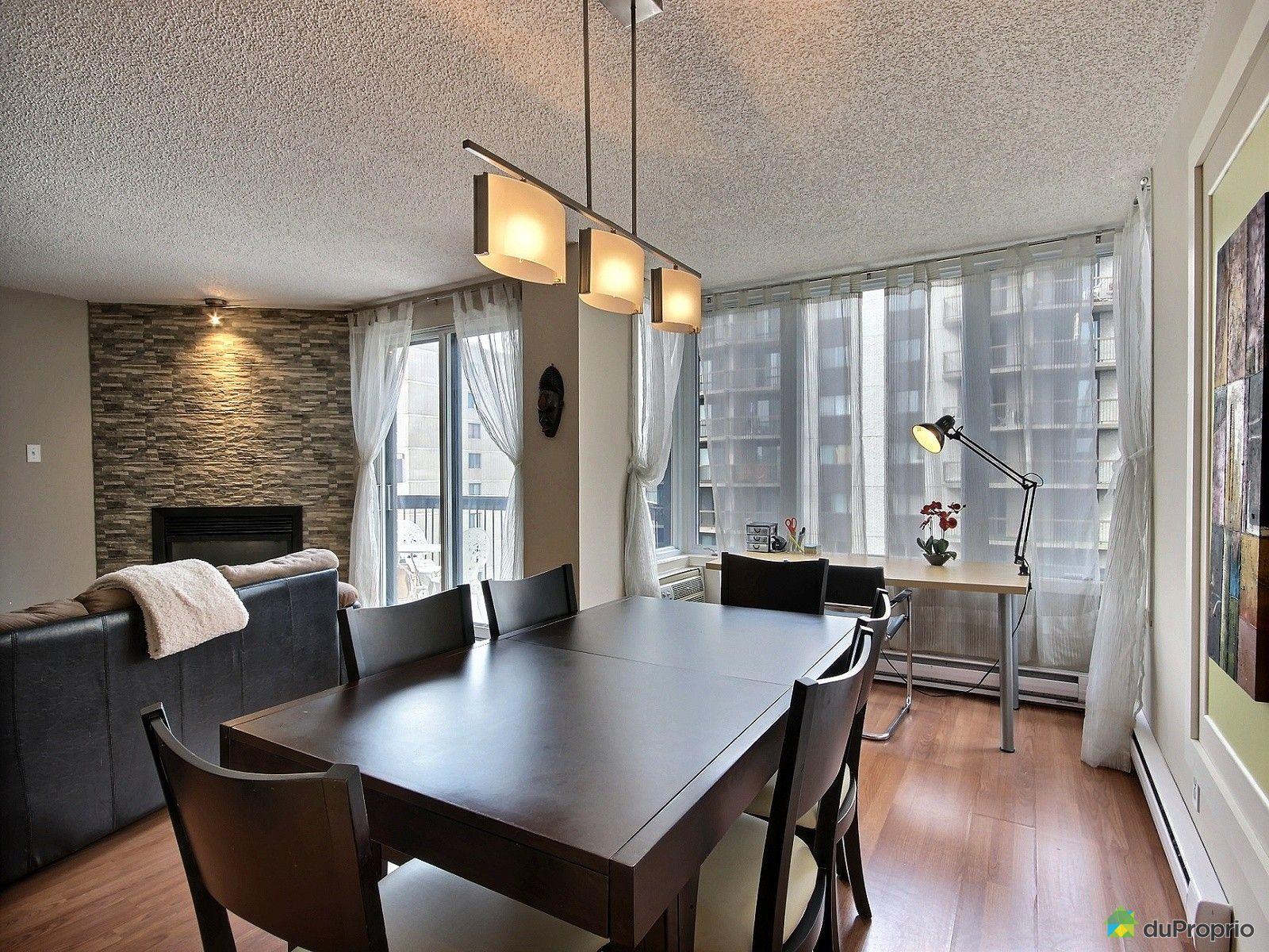#7E6C4D Condo Vendu Montréal Immobilier Québec DuProprio 395758 3635 salle a manger moderne a vendre 1600x1200 px @ aertt.com
