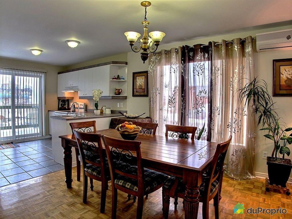 #AA6522 Condo Vendu Longueuil Immobilier Québec DuProprio 153977 3891 salle a manger pas cher montreal 1024x768 px @ aertt.com