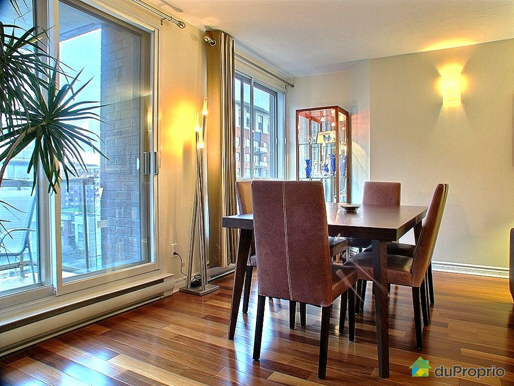 Condo vendu montr al immobilier qu bec duproprio 222511 for Salle a manger a montreal
