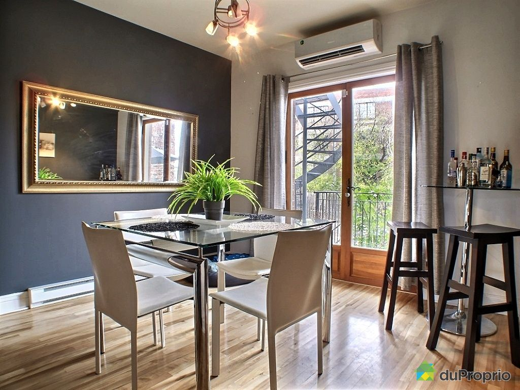 Condo vendu montr al immobilier qu bec duproprio 374664 for Salle a manger montreal