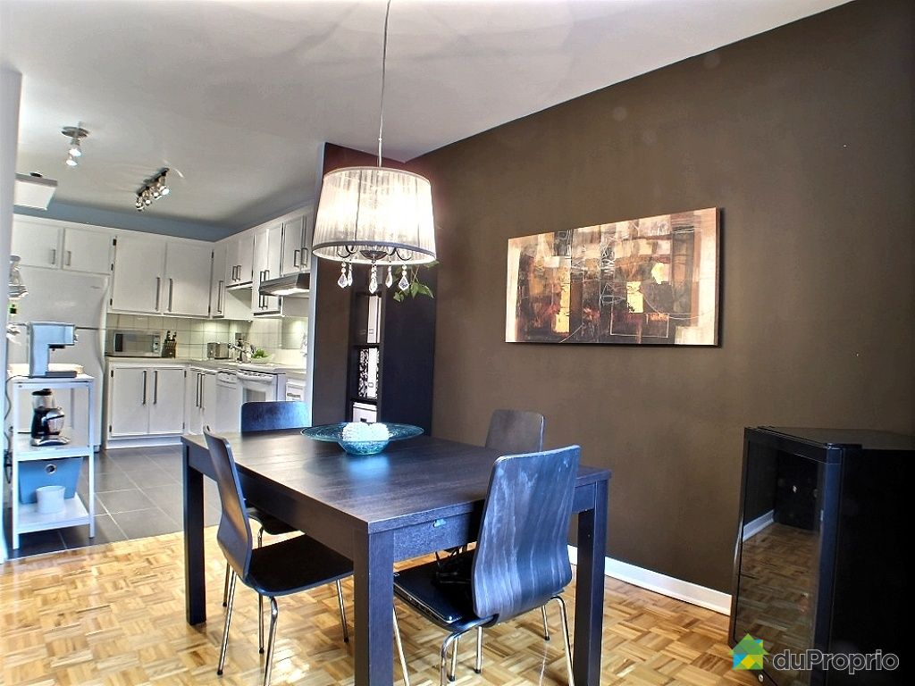 Condo vendu montr al immobilier qu bec duproprio 374573 for Salle a manger a montreal