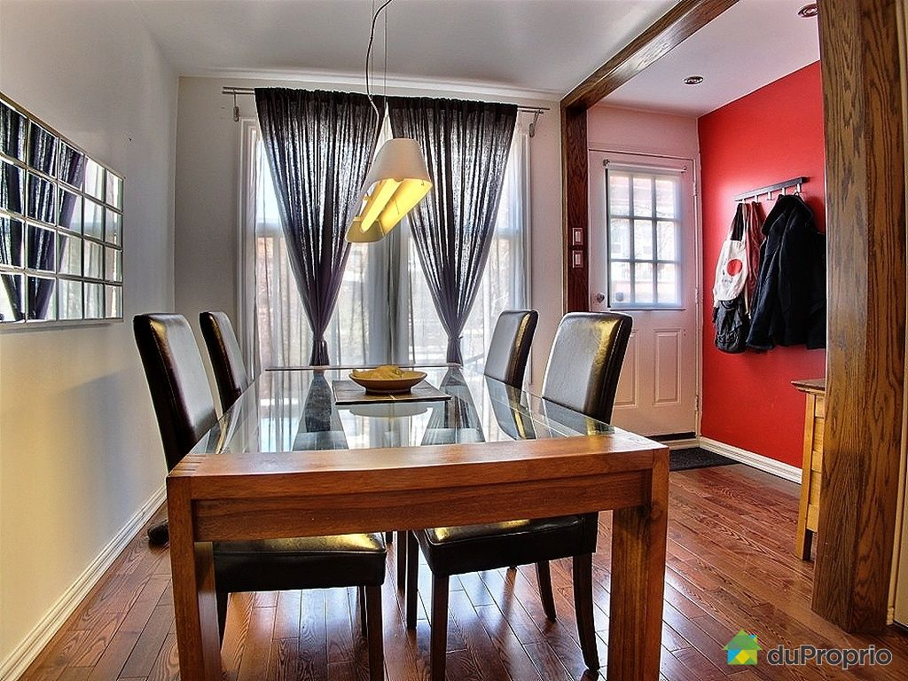 Condo vendu montr al immobilier qu bec duproprio 422610 for Salle a manger a montreal