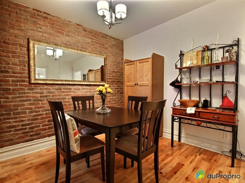 Condo vendu montr al immobilier qu bec duproprio 477260 for Salle a manger a montreal