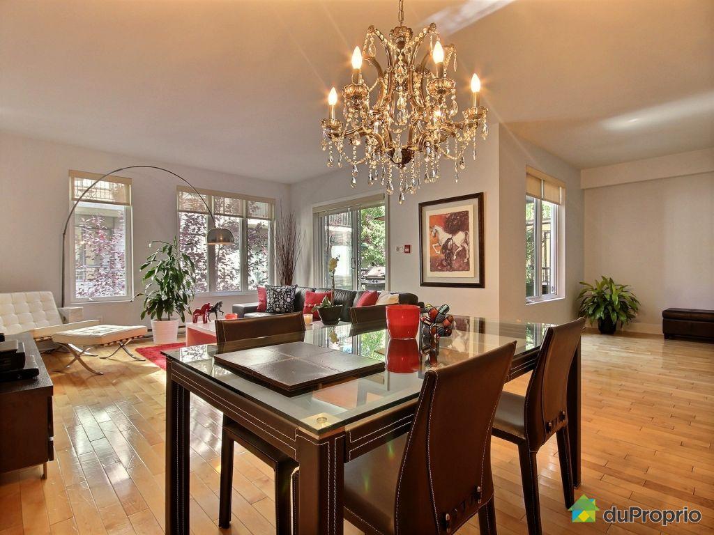 Condo vendre montr al 202 1055 rue anderson for Salle a manger antique quebec