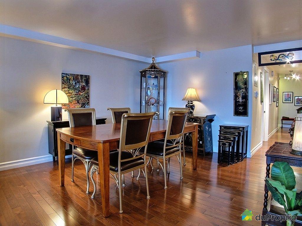 Condo vendre montr al 301 6080 rue renoir immobilier for Salle a manger montreal