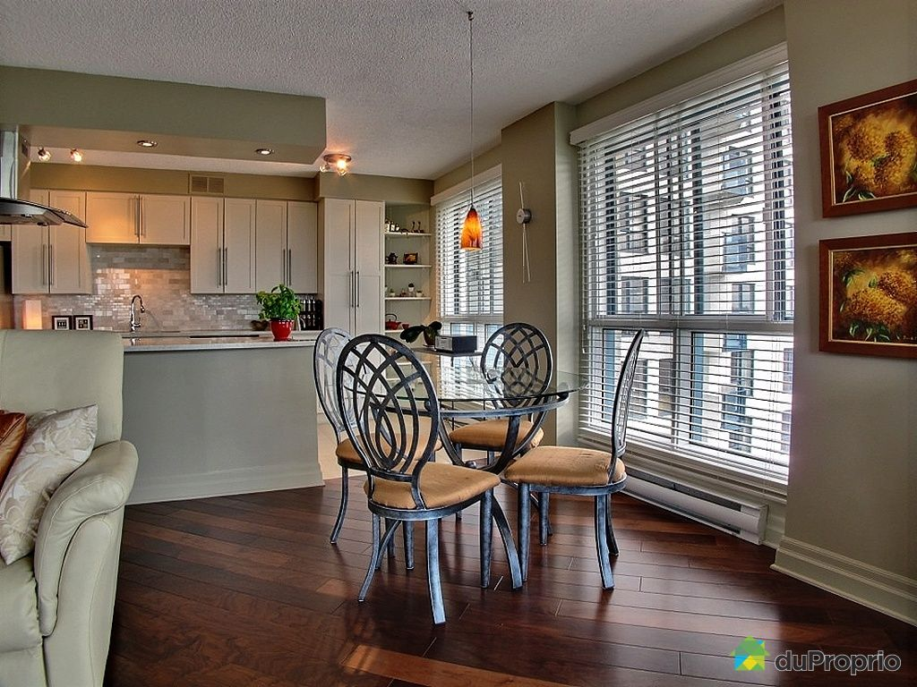 Condo vendu montr al immobilier qu bec duproprio 302533 for Salle a manger montreal