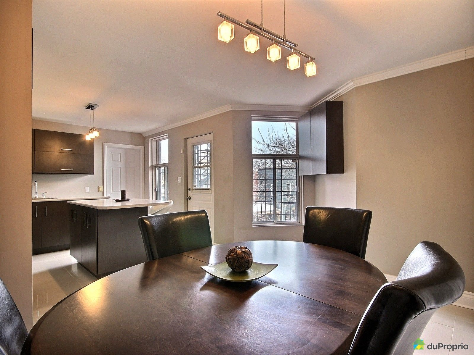 Condo vendu montr al immobilier qu bec duproprio 589206 for Salle a manger montreal