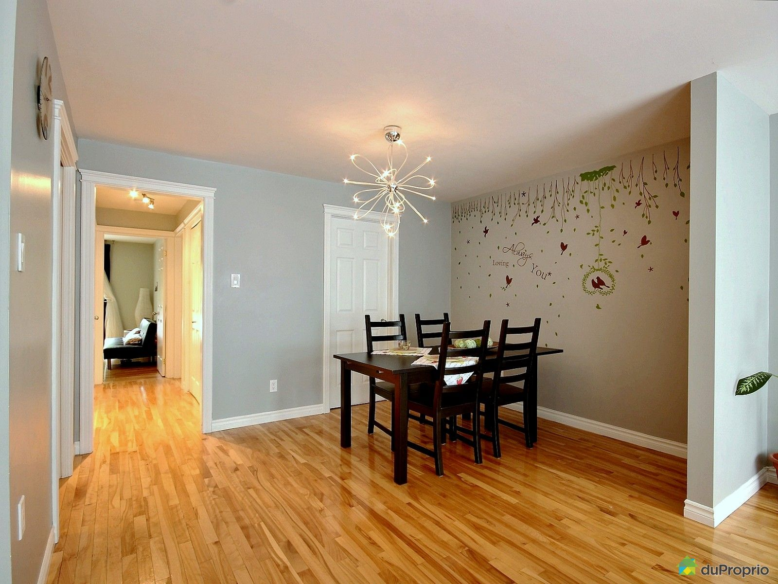 Condo vendre montr al 4 2469 rue knox immobilier for Salle a manger montreal