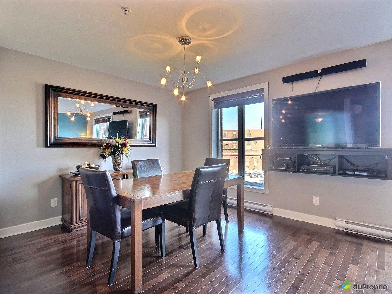 Condo vendre montr al 561 2323 rue le caron immobilier for Salle a manger montreal