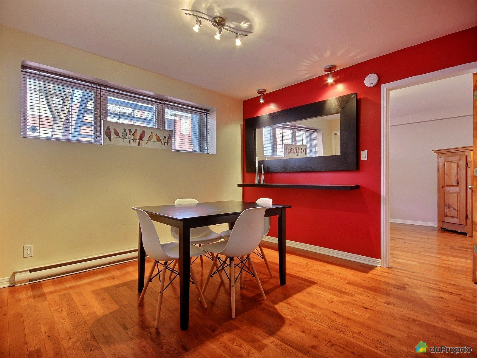 Condo vendu montr al immobilier qu bec duproprio 685095 for Salle a manger a montreal