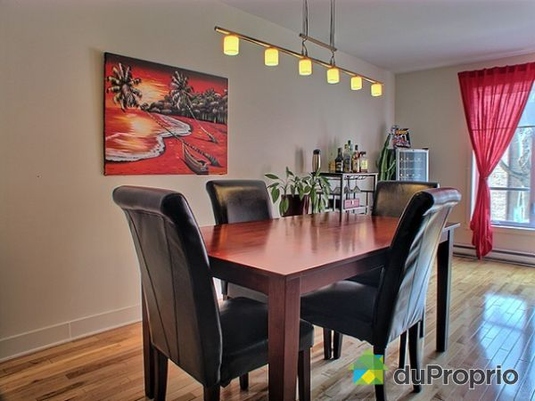 Condo vendu montr al immobilier qu bec duproprio 247539 for Salle a manger montreal