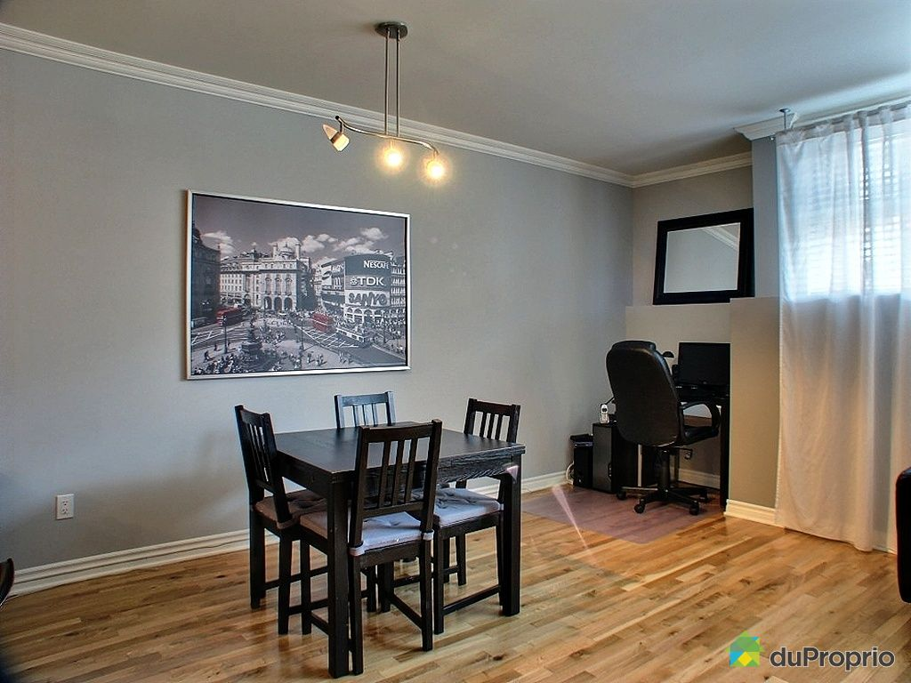 Condo vendu montr al immobilier qu bec duproprio 258418 for Salle a manger montreal