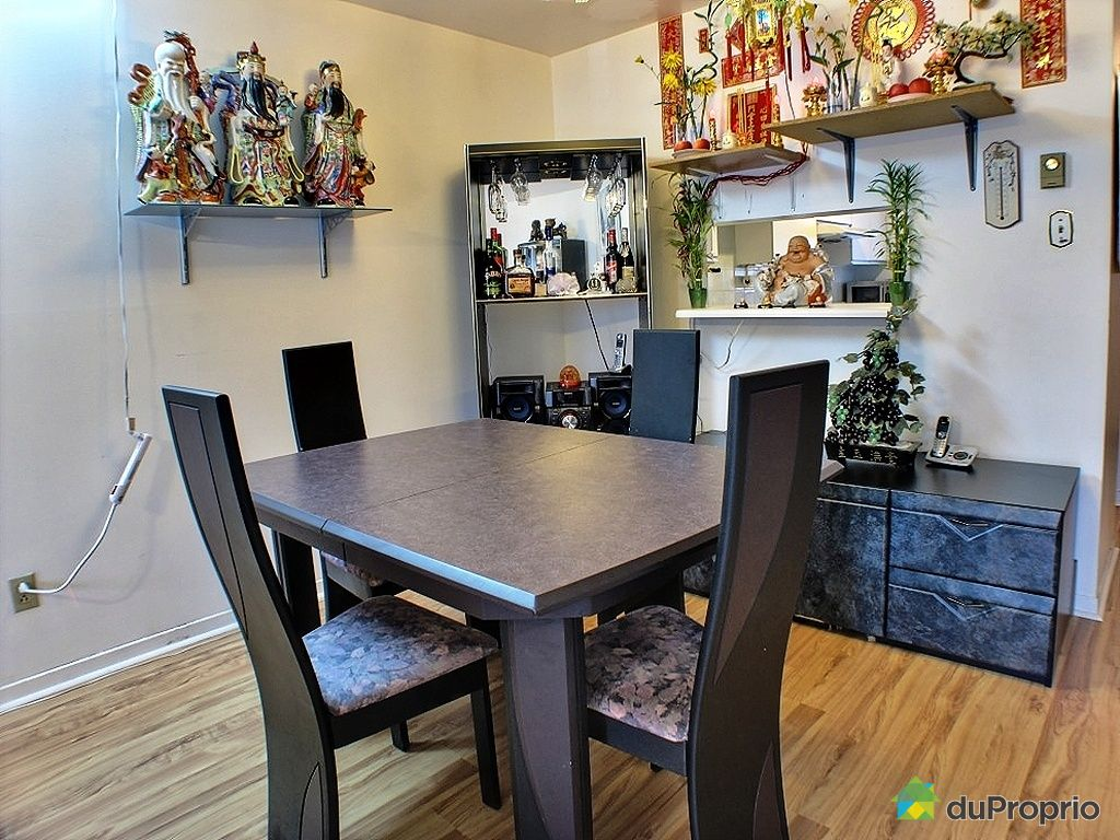 Condo vendu montr al immobilier qu bec duproprio 286363 for Salle a manger montreal