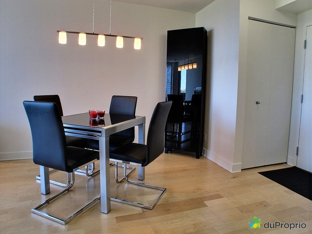 Condo vendu montr al immobilier qu bec duproprio 331065 for Salle a manger a montreal