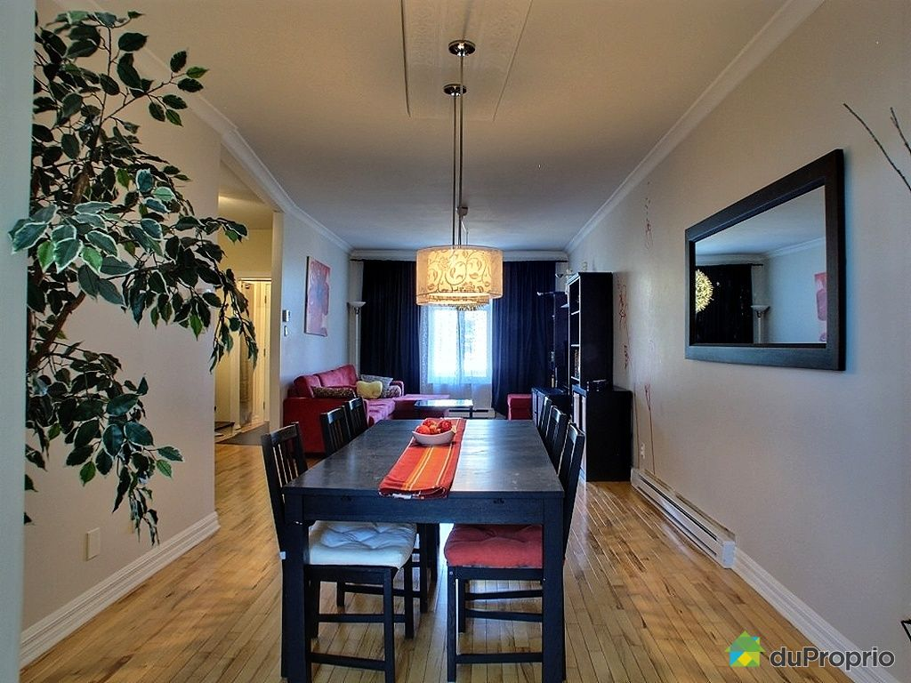 Condo vendu montr al immobilier qu bec duproprio 424161 for Salle a manger montreal