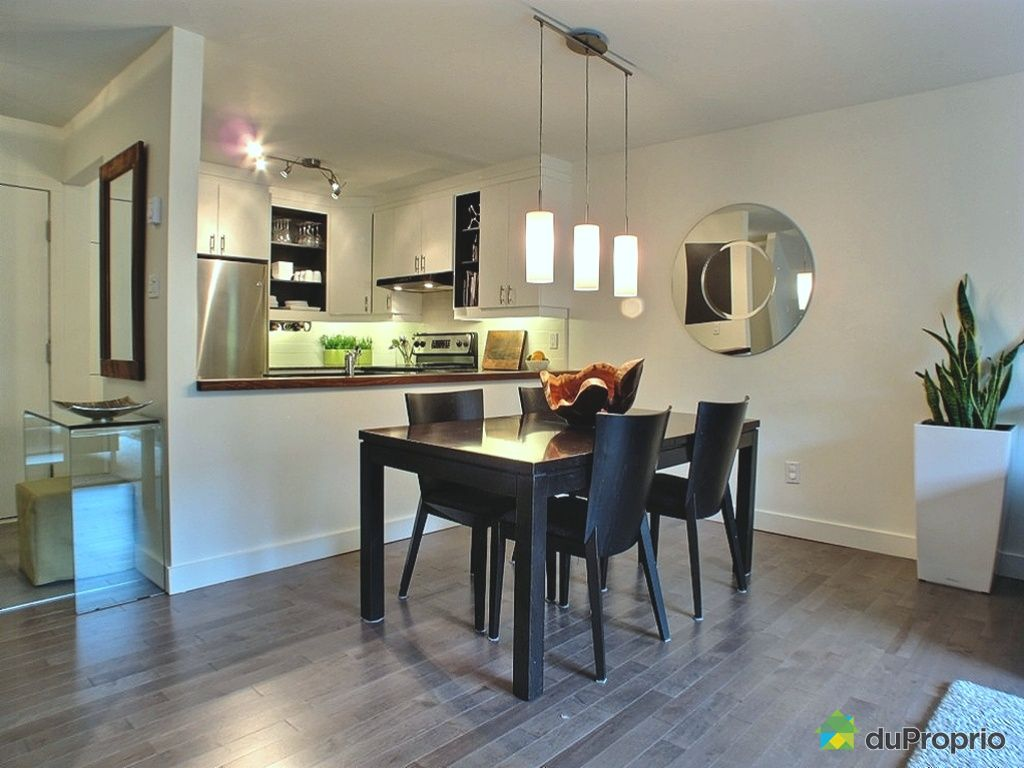 Condo vendu montr al immobilier qu bec duproprio 428180 for Salle a manger montreal