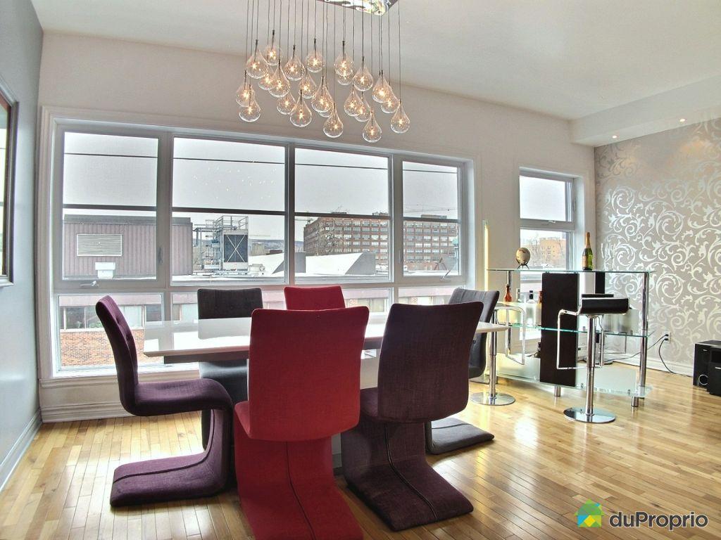 Condo vendu montr al immobilier qu bec duproprio 489503 for Salle a manger quartz