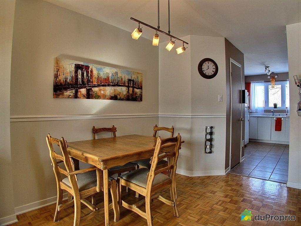 Condo vendu montr al immobilier qu bec duproprio 397142 for Salle a manger montreal