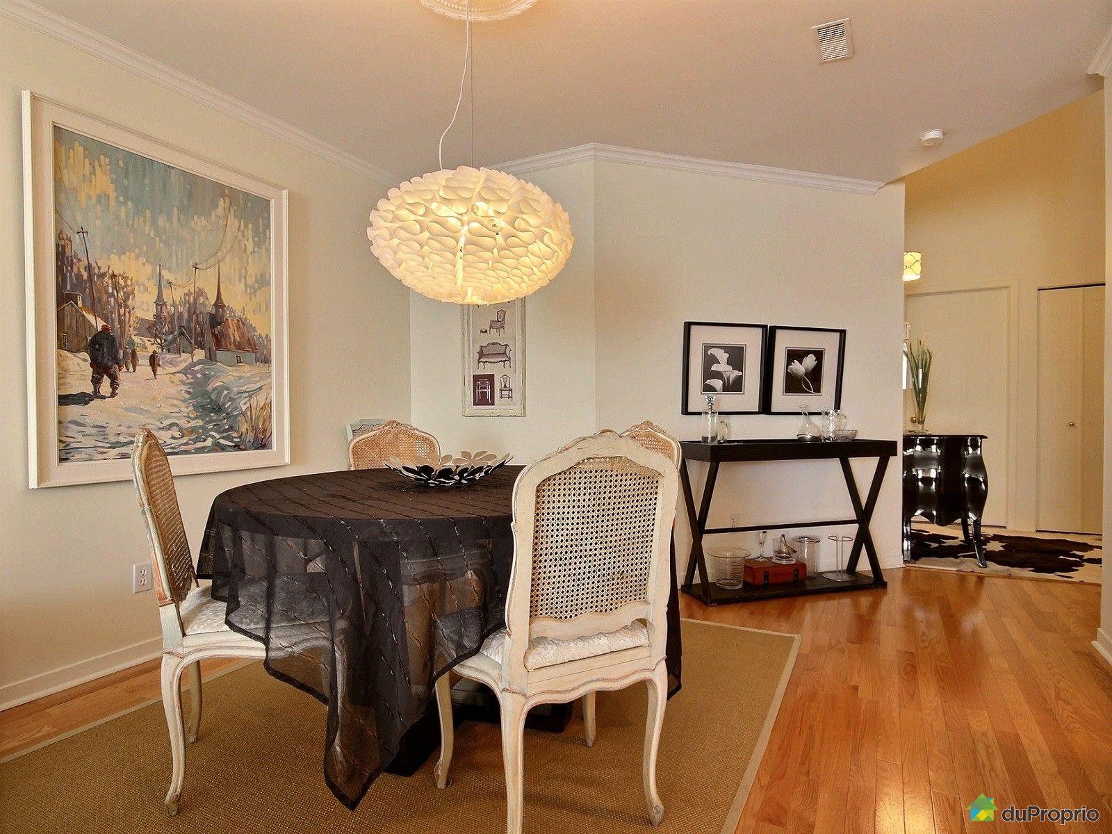 Condo vendre st lambert 646 place de namur immobilier for Salle a manger namur
