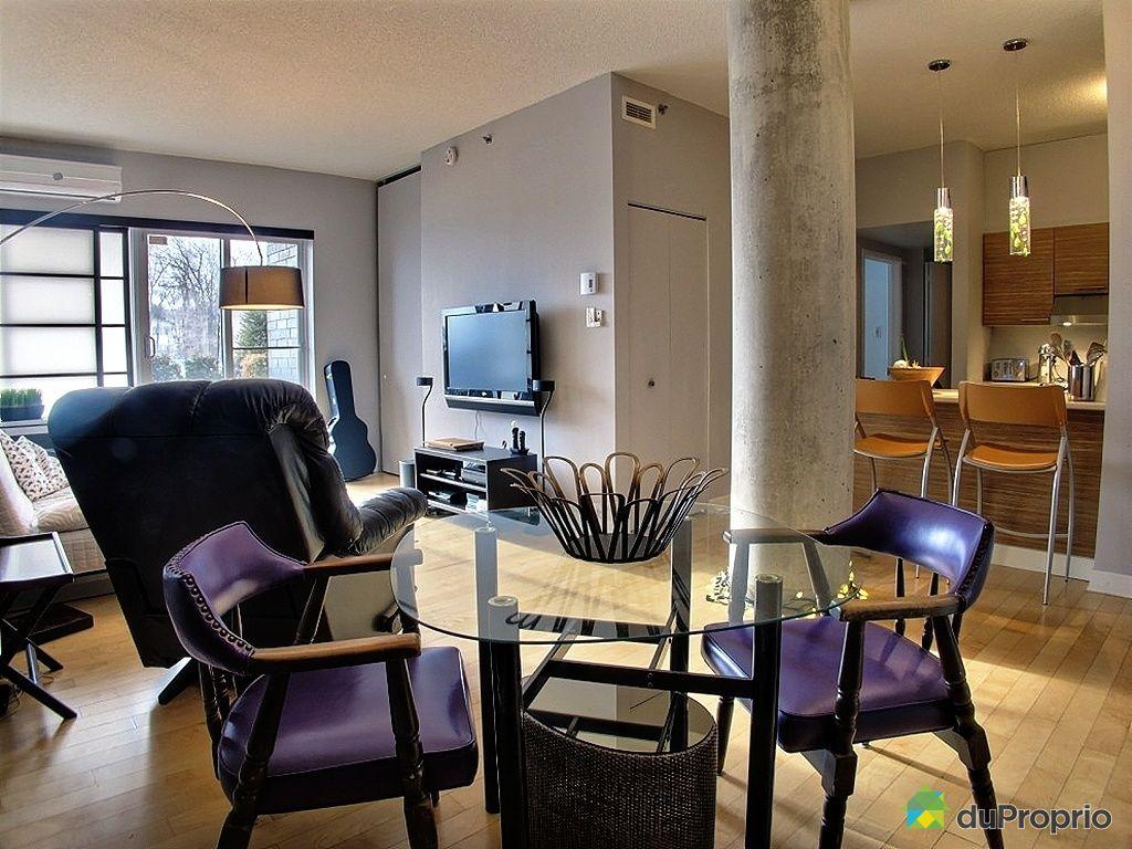 Condo vendre montr al 111 4885 boulevard henri bourassa for Salle a manger montreal