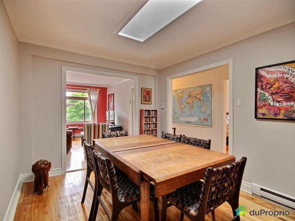 Condo vendre montr al 7194 rue drolet immobilier for Salle a manger antique quebec