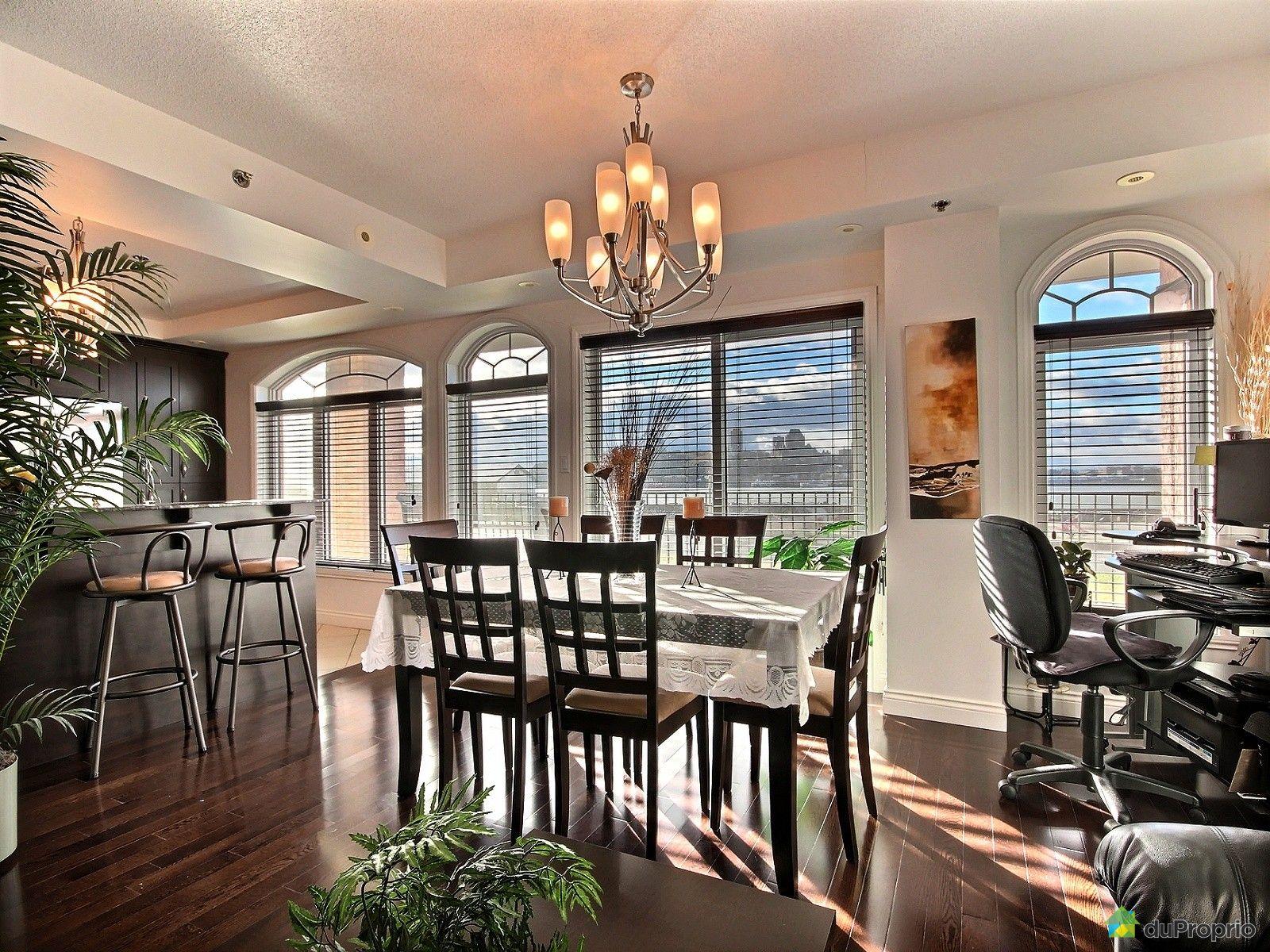 Condo vendre l vis 104 6260 rue st laurent immobilier for Salle a manger levi