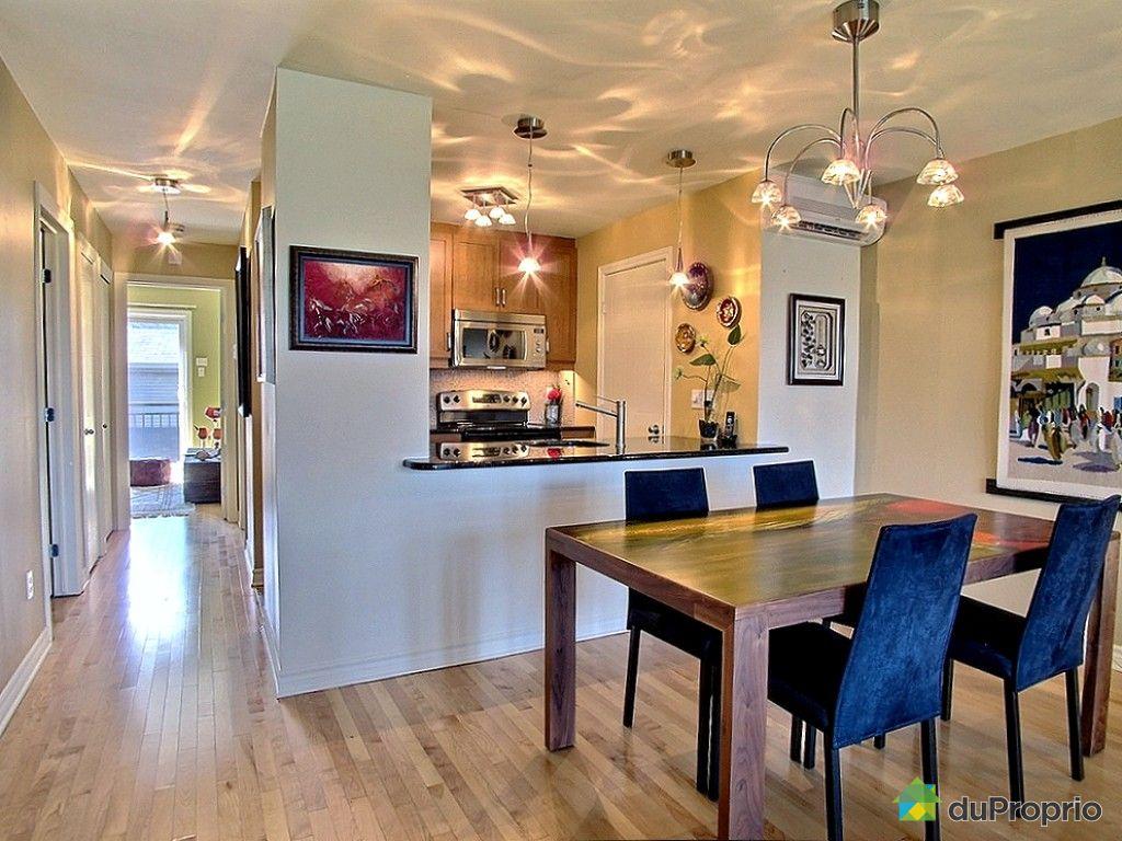 Condo vendu montr al immobilier qu bec duproprio 541889 for Ares cuisine pointe claire