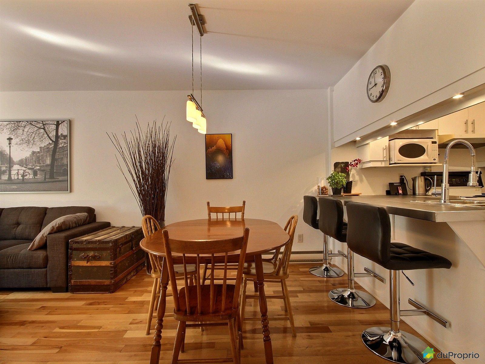 Condo vendre montr al 3 1317 rue la fontaine for La salle a manger montreal