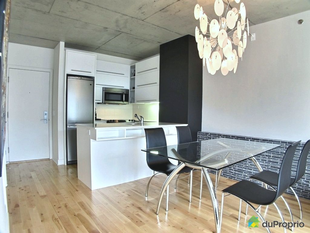 Condo vendu montr al immobilier qu bec duproprio 463904 for Salle a manger a montreal
