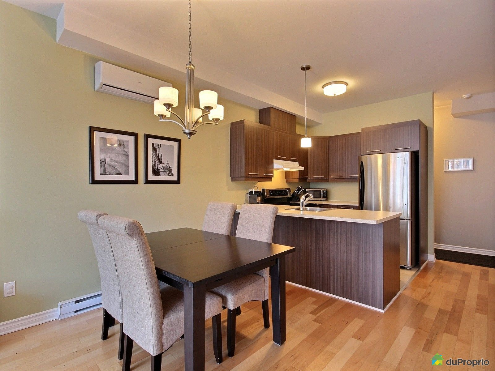 Condo vendu montr al immobilier qu bec duproprio 556211 for La salle a manger montreal