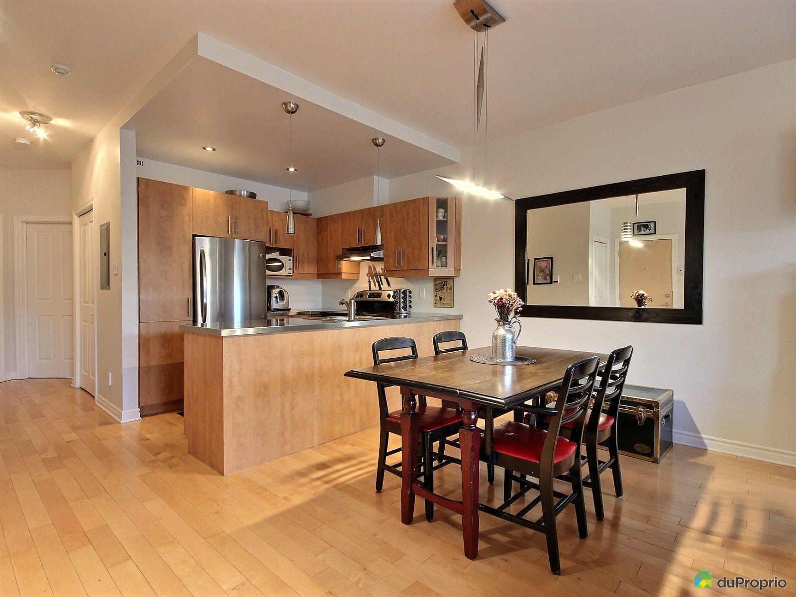 Condo vendu montr al immobilier qu bec duproprio 627301 for La salle a manger montreal