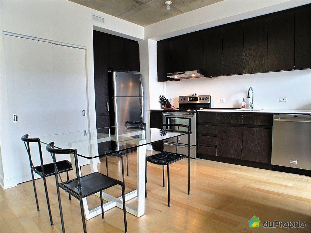 Condo vendu montr al immobilier qu bec duproprio 332186 for Cuisine ouverte tard montreal