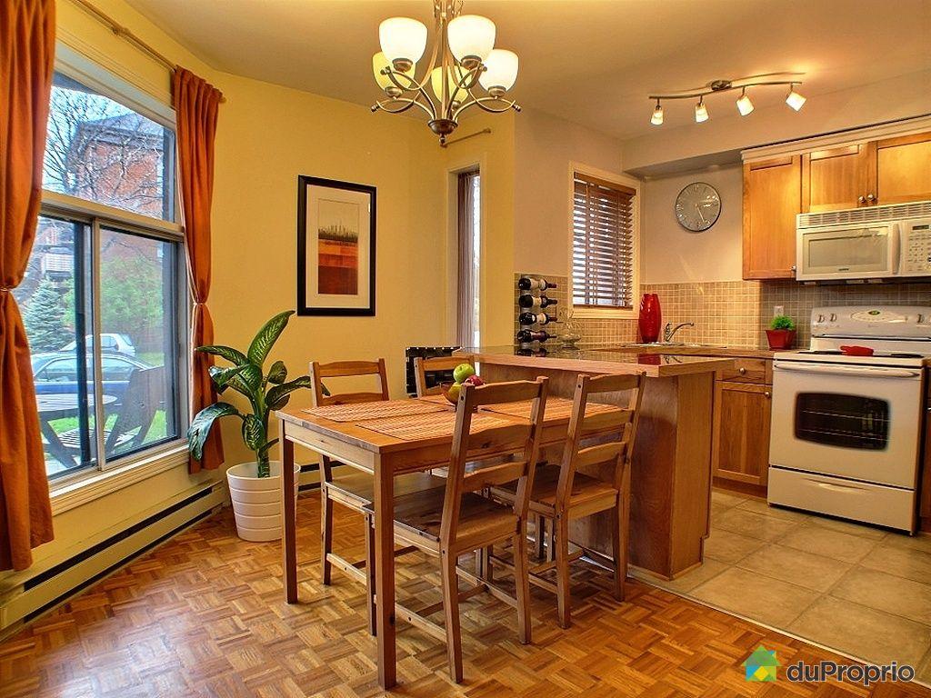Condo vendu montr al immobilier qu bec duproprio 332166 for La salle a manger montreal