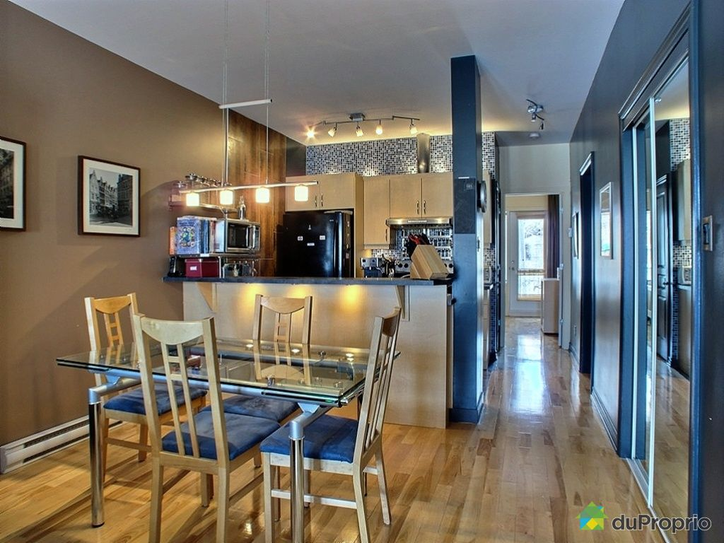 Condo vendu montr al immobilier qu bec duproprio 404537 for La salle a manger montreal