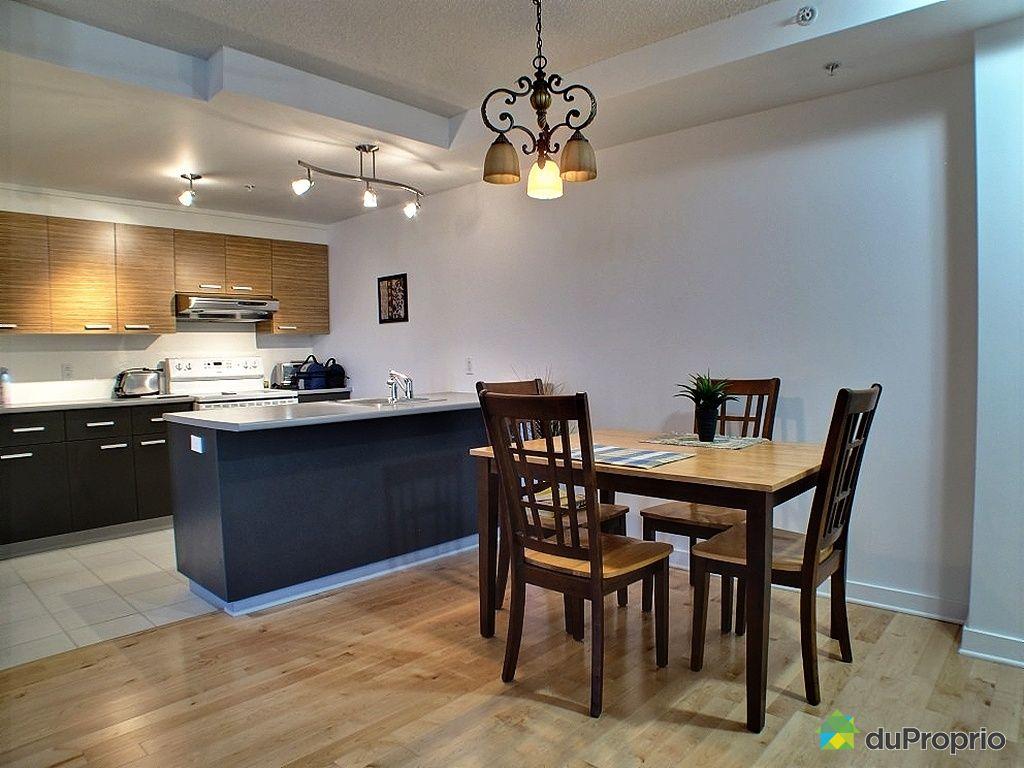 Condo vendre montr al 953 4740 boulevard jean talon est for Cuisine salle a manger ouverte