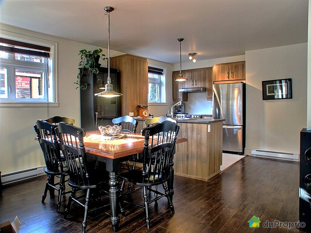 Condo vendu montr al immobilier qu bec duproprio 250967 for Salle a manger a montreal