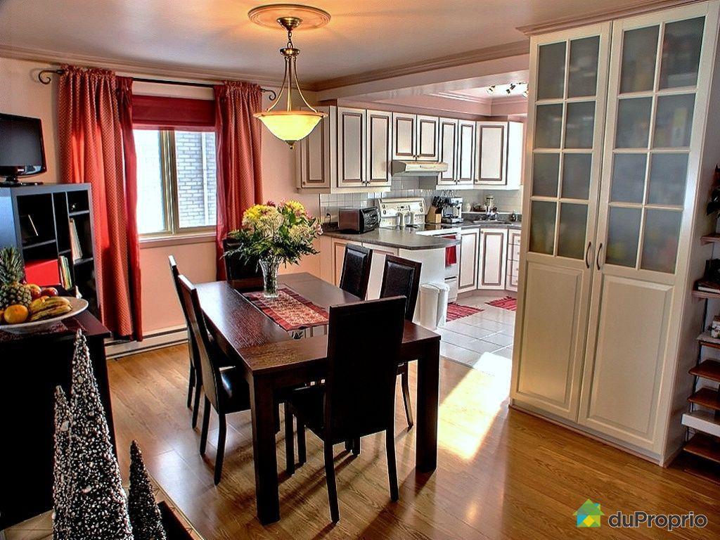 Duplex vendu montr al immobilier qu bec duproprio 305229 for Cuisine salle a manger