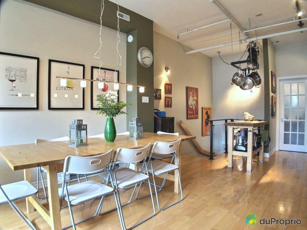 Loft vendu montr al immobilier qu bec duproprio 470074 for Salle a manger loft