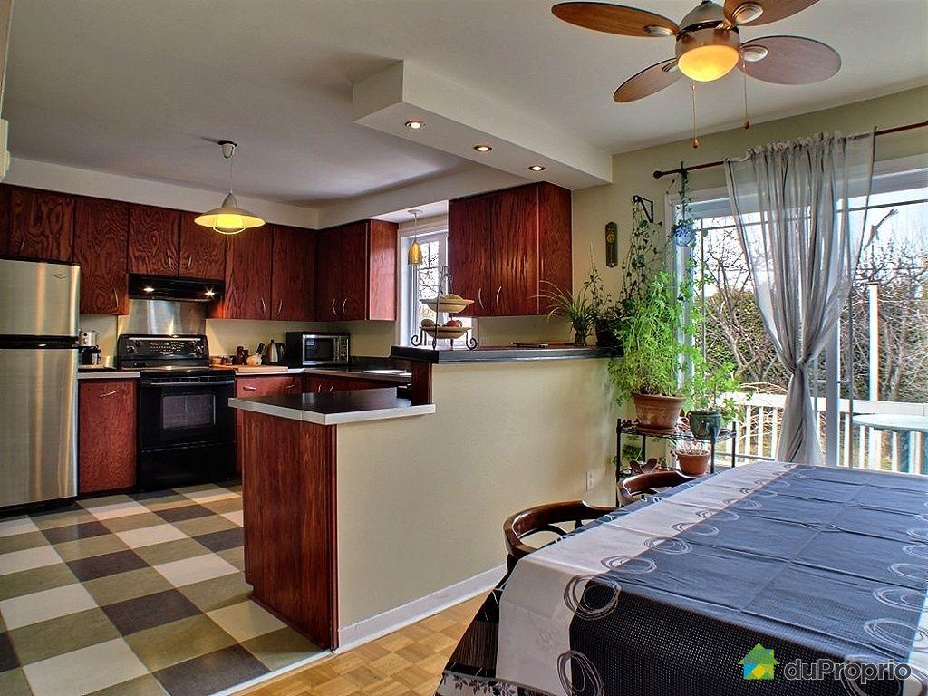 Maison vendu boucherville immobilier qu bec duproprio 318580 - Cuisine salle a manger ...