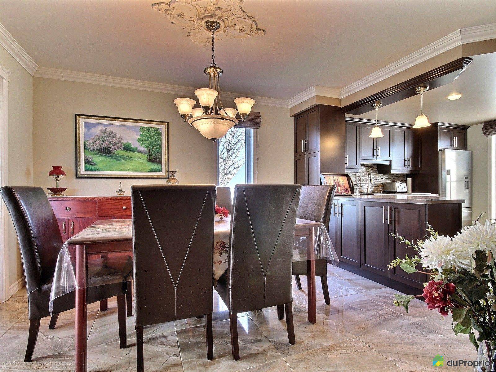 Maison vendre l vis 27 rue andr laurendeau immobilier for Salle a manger levi