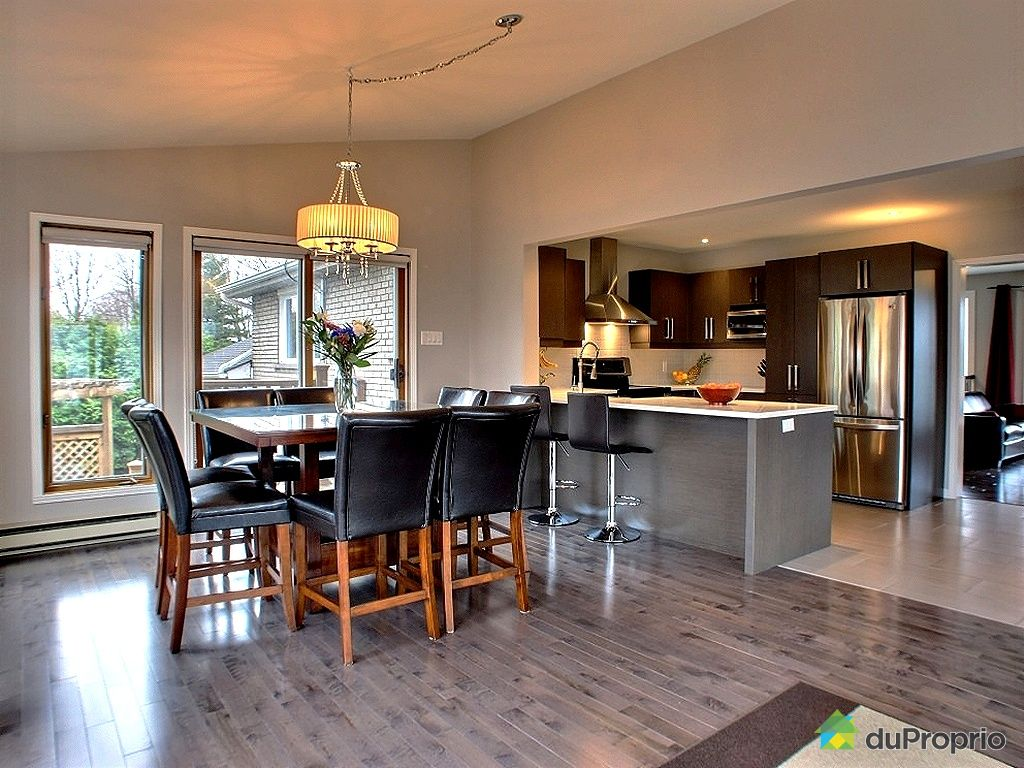 Maison vendu longueuil immobilier qu bec duproprio 323238 for Cuisine salle a manger