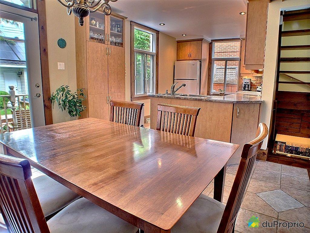 Maison vendu montr al immobilier qu bec duproprio 353190 for Salle a manger montreal